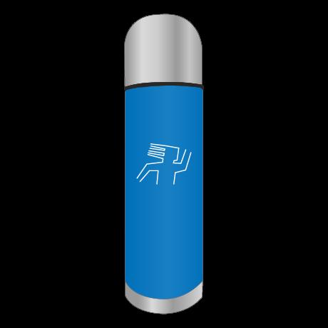 Edelstahl Isolierflasche, 0,5 l, mit individueller Gravur