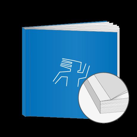 Broschüren Klebebindung Quadrat